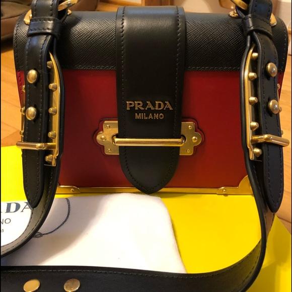 0272435ae2bd Brand New - Prada Cahier Bag